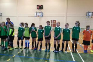 Trzecie miejsce młodziczek na turnieju w Wińsku