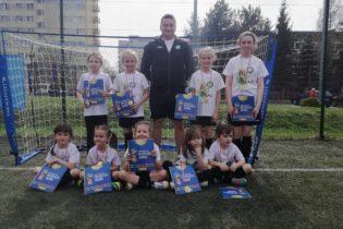 Najmłodsze piłkarki na turnieju LECHIA CUP