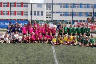 Turniej piłki nożnej dziewcząt U-7, U-9 i U-13