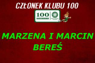 Nowi członkowie Klubu 100!!!