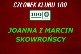 """Nowi Członkowie """"KLUBU 100""""!"""